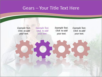 Young businessman PowerPoint Templates - Slide 48
