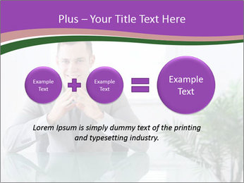 Young businessman PowerPoint Template - Slide 75