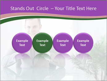 Young businessman PowerPoint Templates - Slide 76