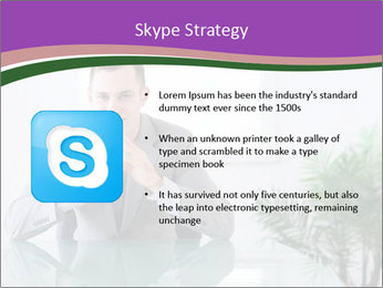 Young businessman PowerPoint Templates - Slide 8