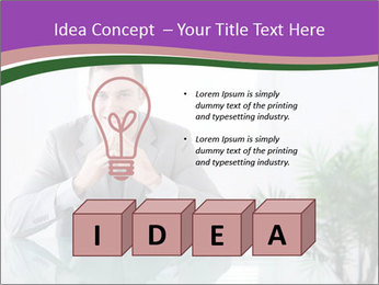 Young businessman PowerPoint Templates - Slide 80