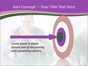Young businessman PowerPoint Template - Slide 83