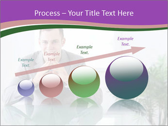 Young businessman PowerPoint Templates - Slide 87