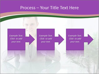 Young businessman PowerPoint Template - Slide 88