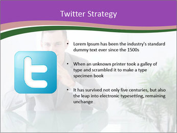 Young businessman PowerPoint Templates - Slide 9