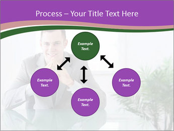 Young businessman PowerPoint Templates - Slide 91