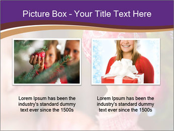 Girl helping decorating the Christmas tree PowerPoint Templates - Slide 18