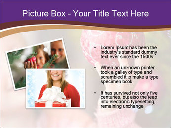 Girl helping decorating the Christmas tree PowerPoint Templates - Slide 20