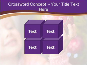 Girl helping decorating the Christmas tree PowerPoint Templates - Slide 39
