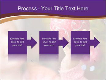 Girl helping decorating the Christmas tree PowerPoint Templates - Slide 88