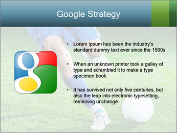 Soccer player PowerPoint Template - Slide 10