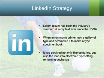 Soccer player PowerPoint Template - Slide 12