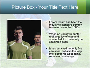 Soccer player PowerPoint Template - Slide 13