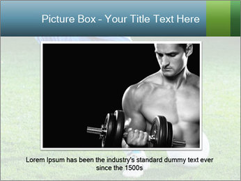 Soccer player PowerPoint Template - Slide 15