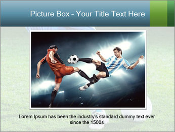 Soccer player PowerPoint Template - Slide 16