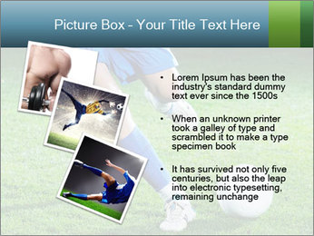 Soccer player PowerPoint Template - Slide 17
