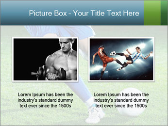 Soccer player PowerPoint Template - Slide 18