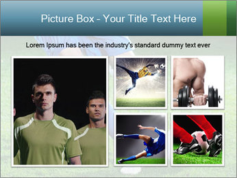 Soccer player PowerPoint Template - Slide 19