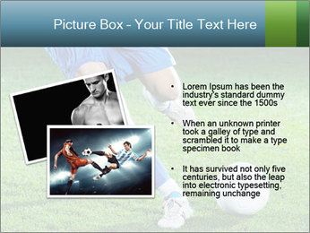 Soccer player PowerPoint Template - Slide 20