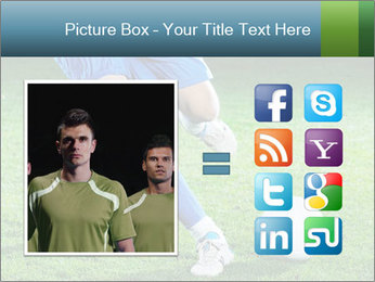 Soccer player PowerPoint Template - Slide 21