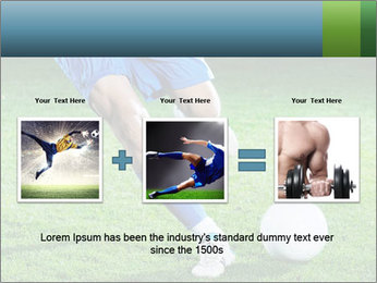 Soccer player PowerPoint Template - Slide 22