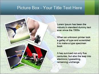 Soccer player PowerPoint Template - Slide 23