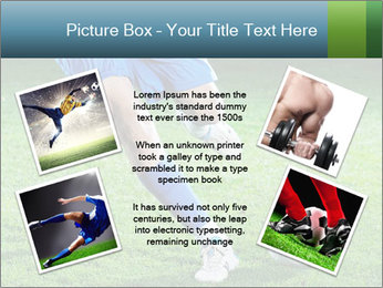 Soccer player PowerPoint Template - Slide 24