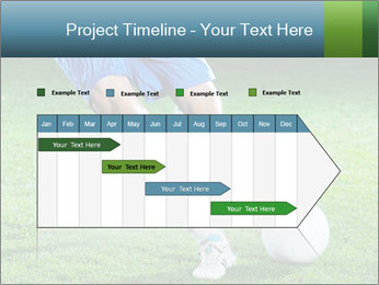 Soccer player PowerPoint Template - Slide 25