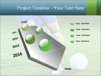 Soccer player PowerPoint Template - Slide 26