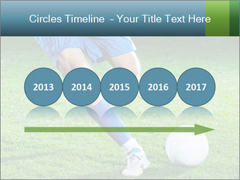 Soccer player PowerPoint Template - Slide 29