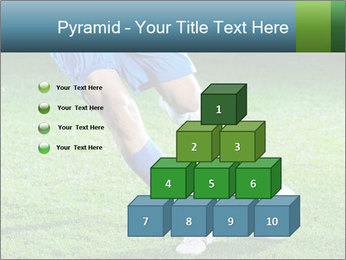 Soccer player PowerPoint Template - Slide 31