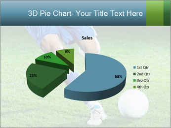 Soccer player PowerPoint Template - Slide 35