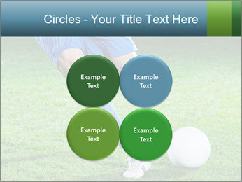 Soccer player PowerPoint Template - Slide 38