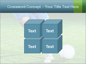 Soccer player PowerPoint Template - Slide 39