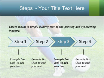 Soccer player PowerPoint Template - Slide 4