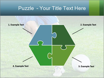 Soccer player PowerPoint Template - Slide 40