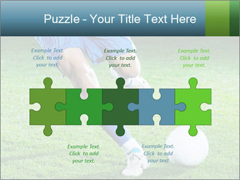 Soccer player PowerPoint Template - Slide 41