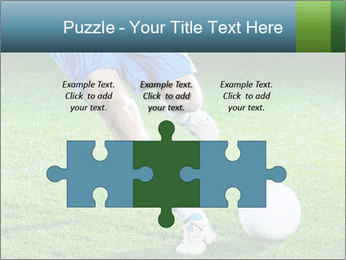 Soccer player PowerPoint Template - Slide 42