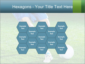Soccer player PowerPoint Template - Slide 44