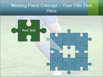 Soccer player PowerPoint Template - Slide 45