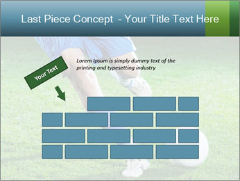 Soccer player PowerPoint Template - Slide 46