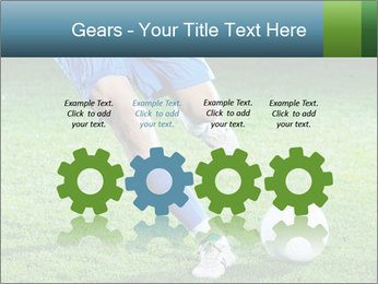 Soccer player PowerPoint Template - Slide 48