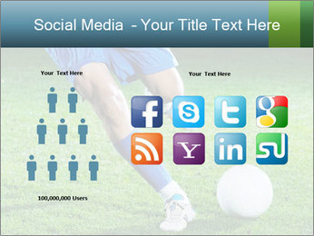 Soccer player PowerPoint Template - Slide 5