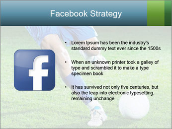 Soccer player PowerPoint Template - Slide 6