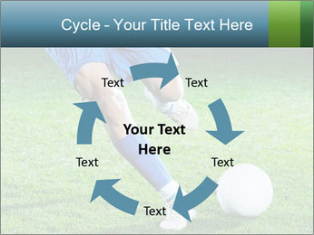 Soccer player PowerPoint Template - Slide 62