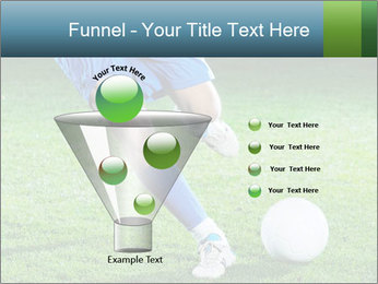 Soccer player PowerPoint Template - Slide 63