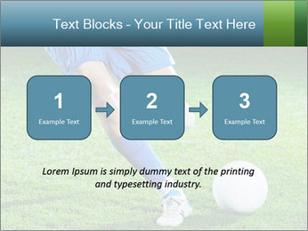 Soccer player PowerPoint Template - Slide 71