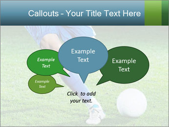 Soccer player PowerPoint Template - Slide 73