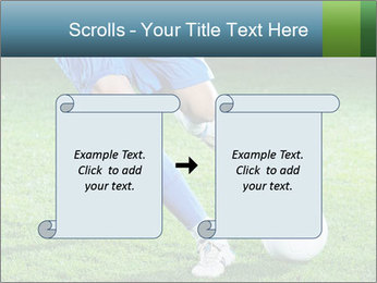 Soccer player PowerPoint Template - Slide 74