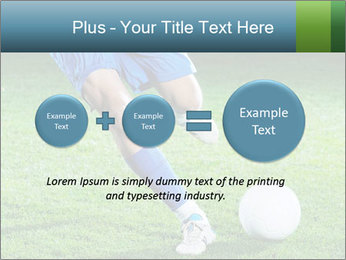 Soccer player PowerPoint Template - Slide 75